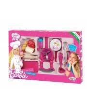 Набор продуктов Barbie овощной 50 см FARO