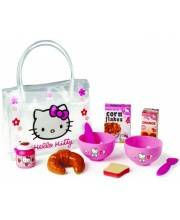 Набор Hello Kitty для завтрака в сумочке 9 предметов Smoby