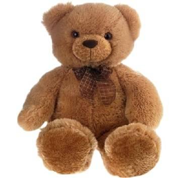 Игрушки, Игрушка мягкая Медведь с бантом 69 см Aurora 181925, фото
