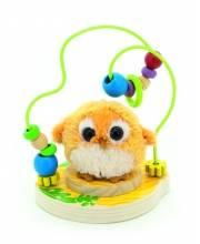 Развивающая игрушка Лабиринт Совушка Мир деревянных игрушек