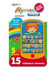Развивающая игрушка Антошка Мультиплеер 5 сказок 15 песенок Азбукварик