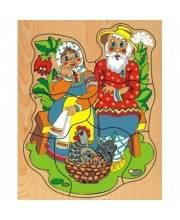 Рамка-вкладыш Рамка Курочка Ряба Wooden Toys