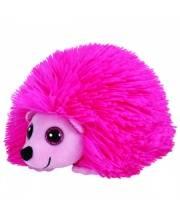 Мягкая игрушка Beanie Babies Ежик Lilly 15 см розовый TY