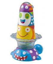 Игрушка-пирамидка для ванной Котенок и друзья
