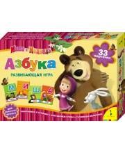 Пазл для малышей Маша и Медведь Азбука РОСМЭН