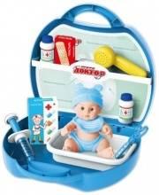 Игровой набор доктора Профи Доктор в чемоданчике 19 предметов 1Toy
