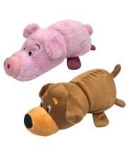Плюшевая Вывернушка Собака-Свинья 2в1 35 см 1Toy