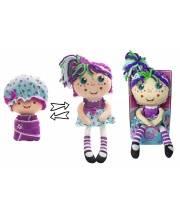Кукла плюшевая Девчушка-Вывернушка Варюшка 2-в-1 23-38 см 1Toy