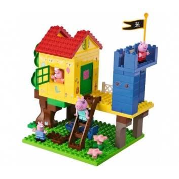 Любимые герои, Конструктор дом на дереве Peppa Pig 94 детали BIG , фото
