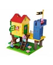 Конструктор дом на дереве Peppa Pig 94 детали BIG