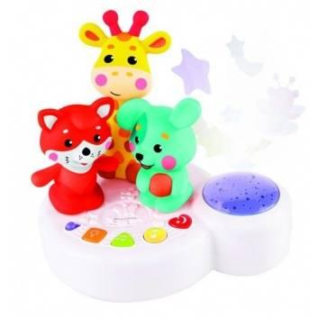 Игрушки, Музыкальная игрушка-ночник Жирафик и друзья Жирафики 176563, фото