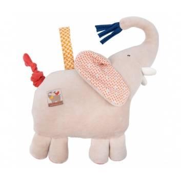 Игрушки, Музыкальный слон Moulin Roty 176579, фото