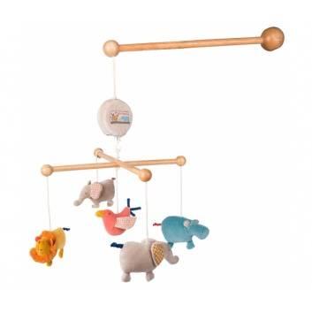 Игрушки, Музыкальный мобиль Moulin Roty 176580, фото