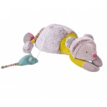 Новый год, Музыкальная Мышь Moulin Roty 176604, фото