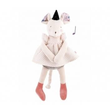 Новый год, Музыкальная кукла Мышка Moulin Roty , фото