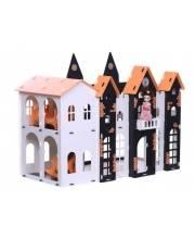 Домик для кукол Замок Джульетта KRASATOYS
