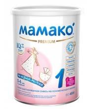 Сухая адаптированная молочная смесь на основе козьего молока для детей от 0 до 6 мес 400 гр