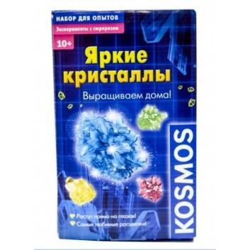 Творчество, Игровой набор Яркие кристаллы KOSMOS , фото
