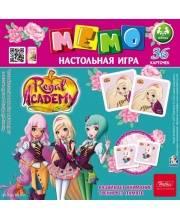 Настольная игра МЕМО Королевская академия Hatber