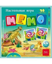 Настольная игра МЕМО Подводный мир Hatber