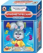 Настольная игра Арифметический тренажёр Русский стиль
