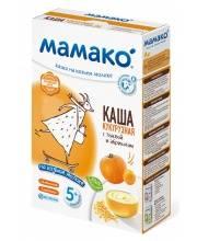 Каша кукурузная с тыквой и абрикосом на козьем молоке 200 гр