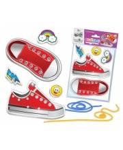 Веселые шнурочки Супер-кеды Русский стиль