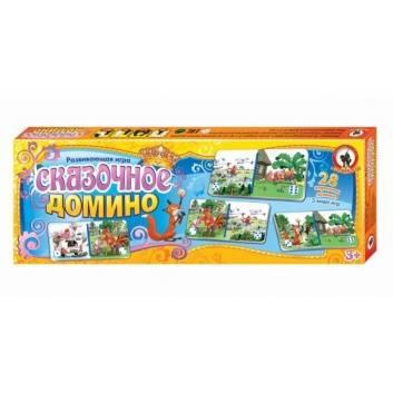 Игрушки, Домино Сказочное Русский стиль 177349, фото