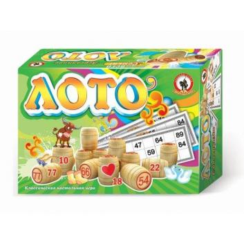 Игрушки, Лото деревянное Русский стиль 177363, фото
