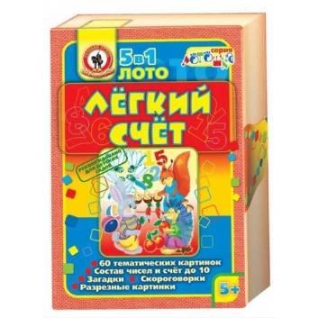 Игрушки, Лото Легкий счет Русский стиль 177373, фото