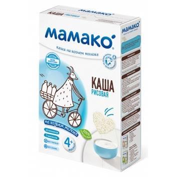 Питание, Каша рисовая на козьем молоке 200 гр Мамако 223217, фото