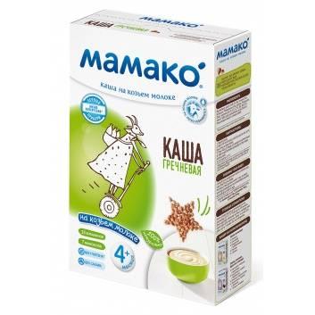 Питание, Каша гречневая на козьем молоке 200 гр Мамако 223219, фото