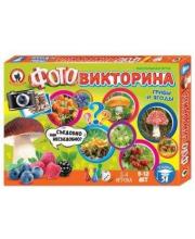 Настольная игра Фотовикторина Грибы и ягоды