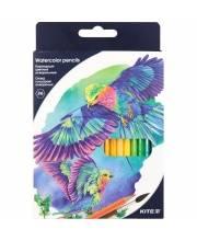 Карандаши цветные акварельные 36 шт Kite