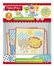 Набор для игры в ванне Funny puzzle 4 пазла Fisher Price