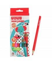 Цветные карандаши MAXI Jumbo 8 цветов Fisher Price