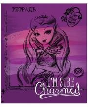 Тетрадь 48 л в клетку Ever After High Mattel
