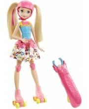 Кукла Barbie на роликах Mattel