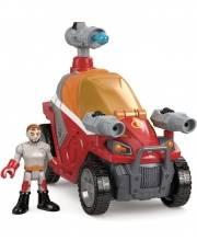 Игровой набор IMAGINEXT Городские спасатели с аксессуарами Пожарный Fisher Price