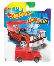 Машинка Hot Wheels изменяющая цвет Super Rig Mattel