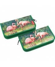 Пластиковый пенал-книжка Flamingo Erich Krause
