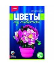 Набор для творчества Цветы из пайеток Яркие георгины Lori
