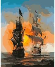 Картины по номерам на холсте Перед сражением Белоснежка