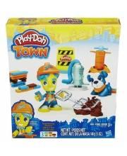 Набор Play-Doh Житель и питомец Брик и песик Тоби HASBRO