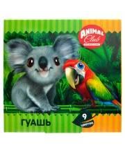 Набор для рисования Animal club 10 мл 9 цветов ACTION!