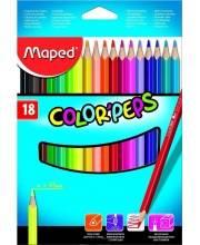 Набор цветных карандашей Color Peps 18 цветов Maped