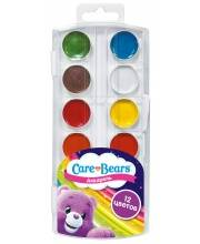Акварельные краски Заботливые медвежата 12 цветов РОСМЭН