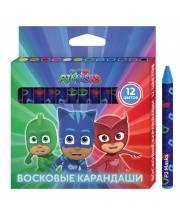 Восковые карандаши Герои в масках 12 цветов РОСМЭН