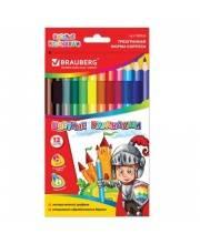 Цветные карандаши Kids Series 12 цветов BRAUBERG