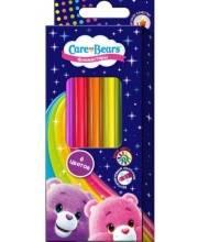 Фломастеры для рисования Заботливые мишки 6 цветов РОСМЭН